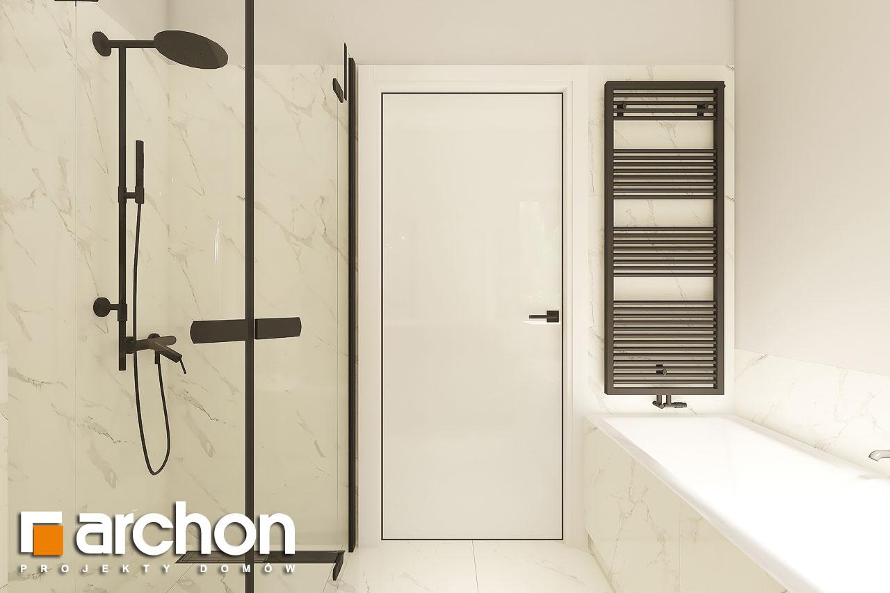 Проект дома ARCHON+ Дом в коручках 4 визуализация ванной (визуализация 3 вид 3)