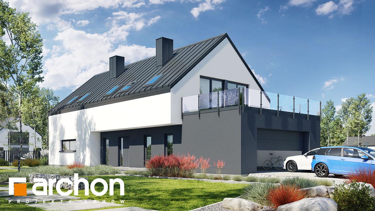 Проект будинку ARCHON+ Будинок в агапантах 2 (Г2) додаткова візуалізація