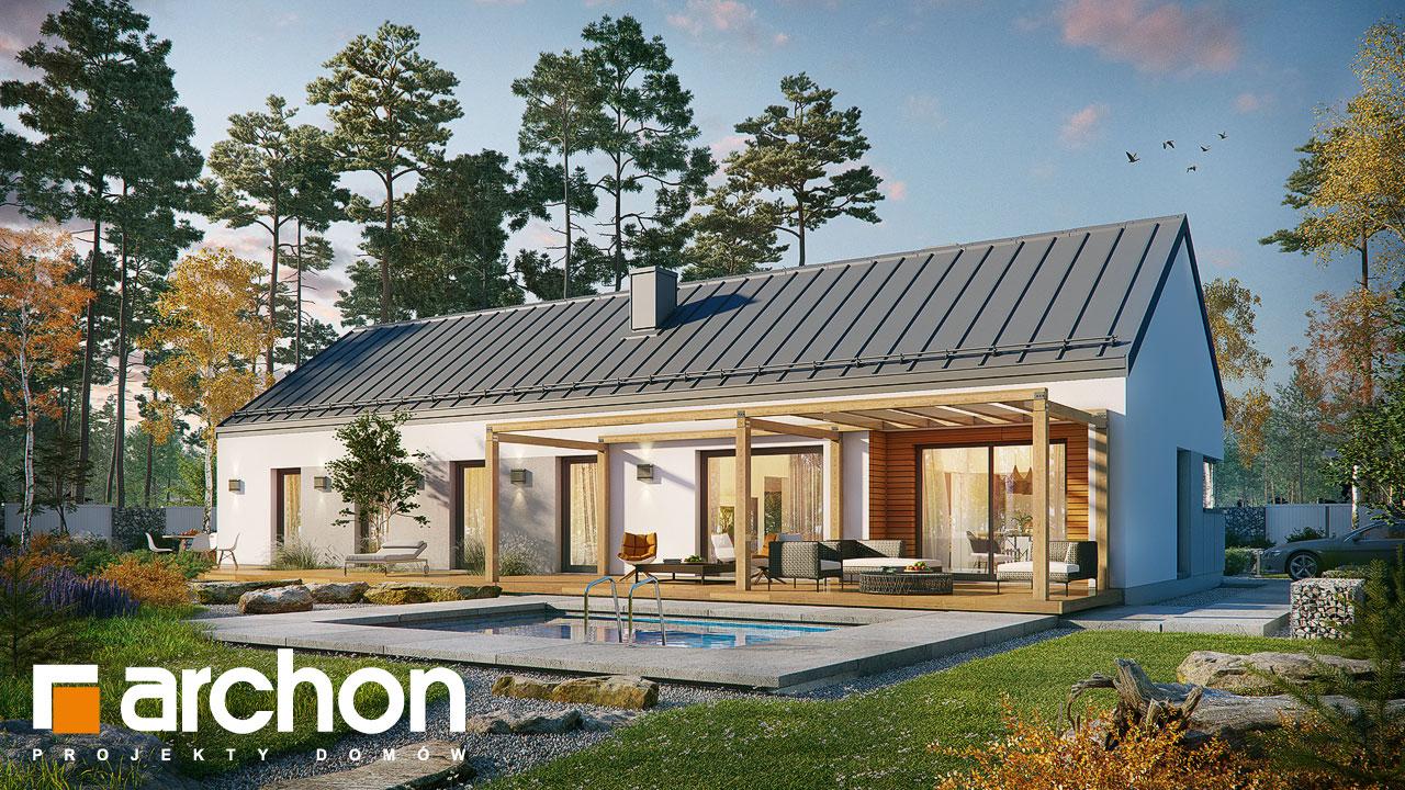 Проект будинку ARCHON+ Будинок в анабеліях додаткова візуалізація