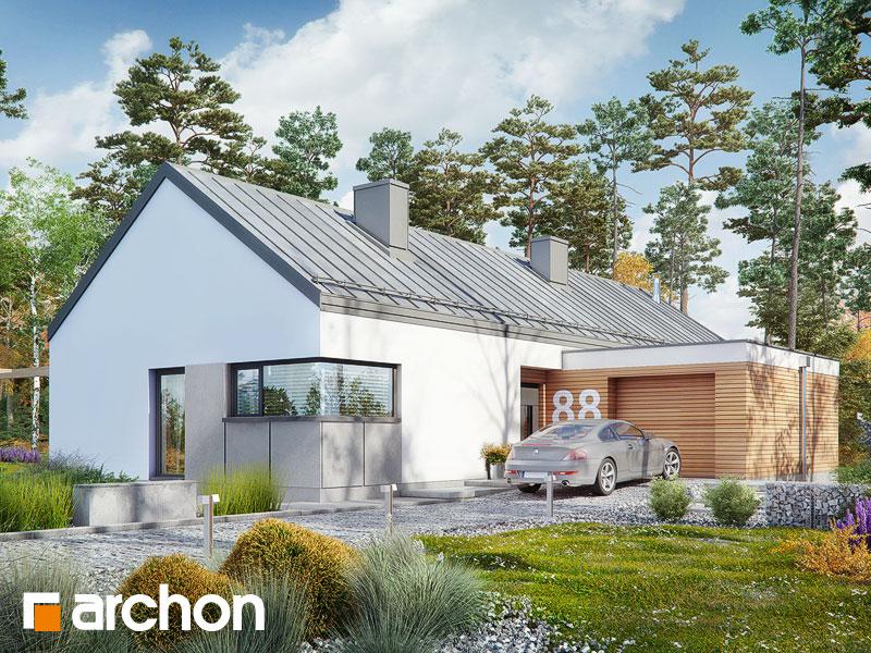 Проект будинку ARCHON+ Будинок в анабеліях Вид 1