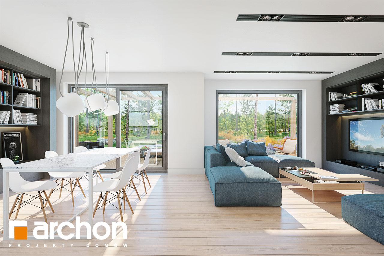 Проект будинку ARCHON+ Будинок в анабеліях денна зона (візуалізація 1 від 1)