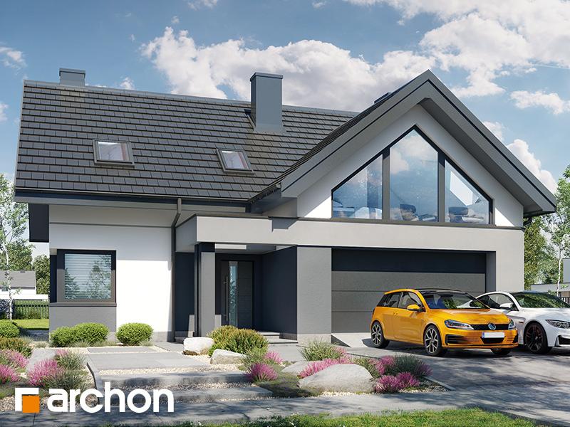 Проект будинку ARCHON+ Будинок в гречці (Г2) Вид 1