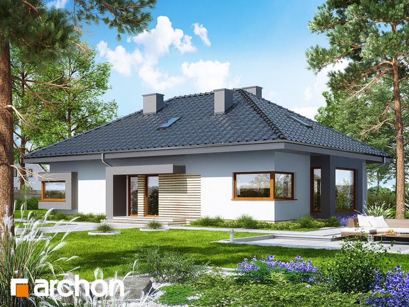 Проект будинку ARCHON+ Будинок під червоною горобиною 11 (Н) Вид 1