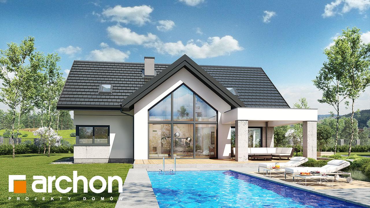 Проект дома ARCHON+ Дом в фелициях (Г2) додаткова візуалізація