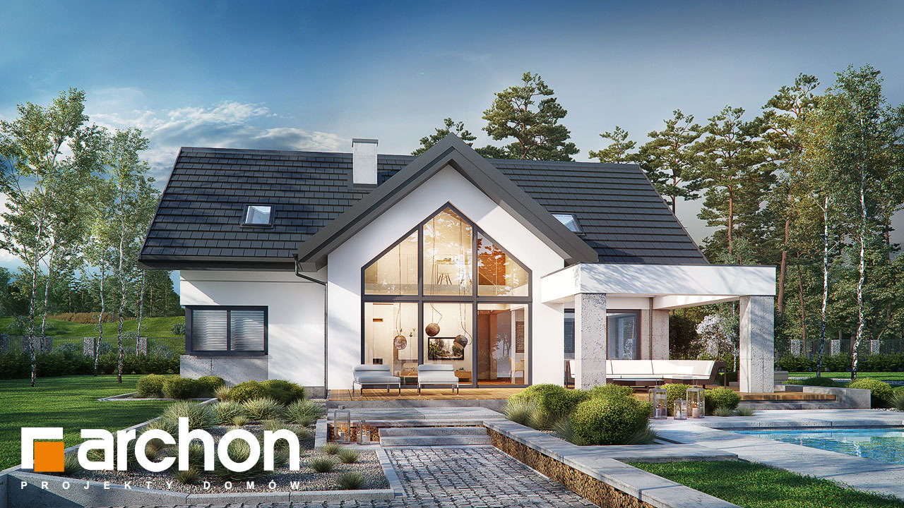 Проект будинку ARCHON+ Будинок у феліціях (Г2)