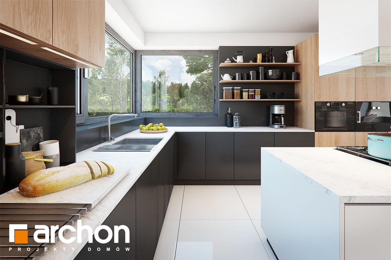 Проект будинку ARCHON+ Будинок у феліціях (Г2) візуалізація кухні 1 від 3