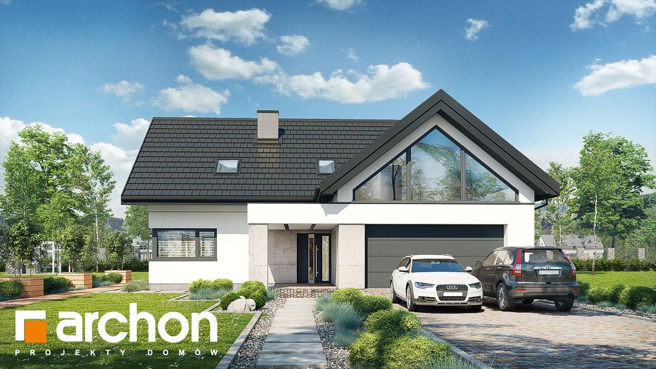 Проект будинку ARCHON+ Будинок у феліціях (Г2) Вид 2