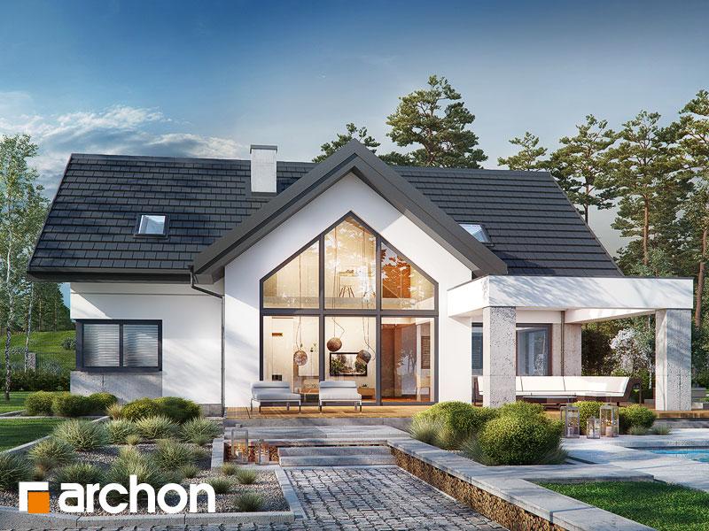 Проект будинку ARCHON+ Будинок у феліціях (Г2) Вид 1