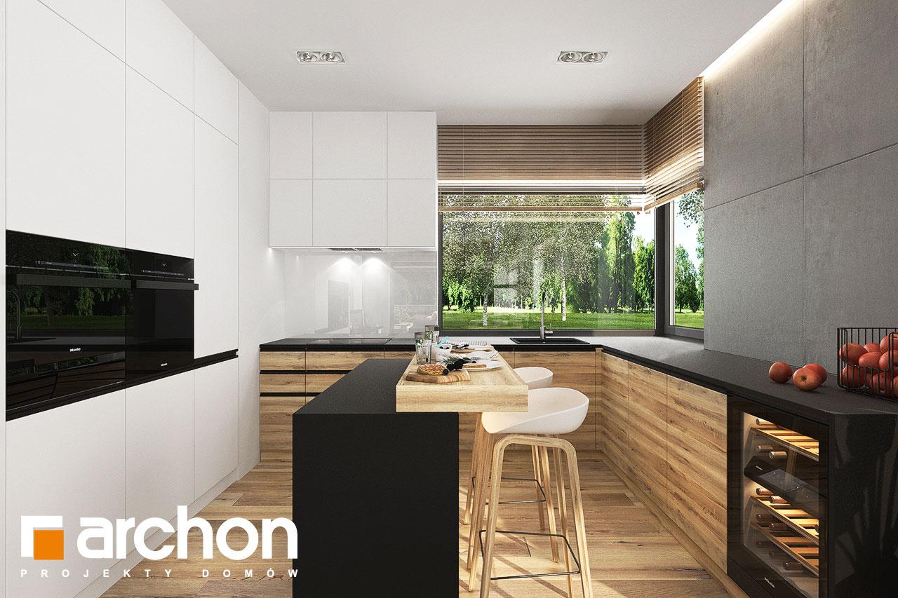 Проект будинку ARCHON+ Будинок в хакетіях 10 візуалізація кухні 1 від 1