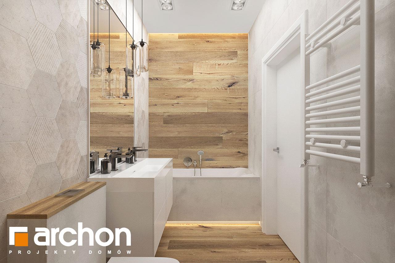 Проект будинку ARCHON+ Будинок в хакетіях 10 візуалізація ванни (візуалізація 3 від 3)