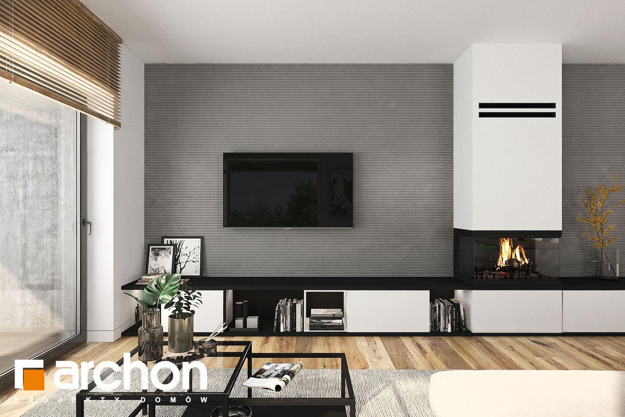 Проект будинку ARCHON+ Будинок в хакетіях 10 денна зона (візуалізація 1 від 1)