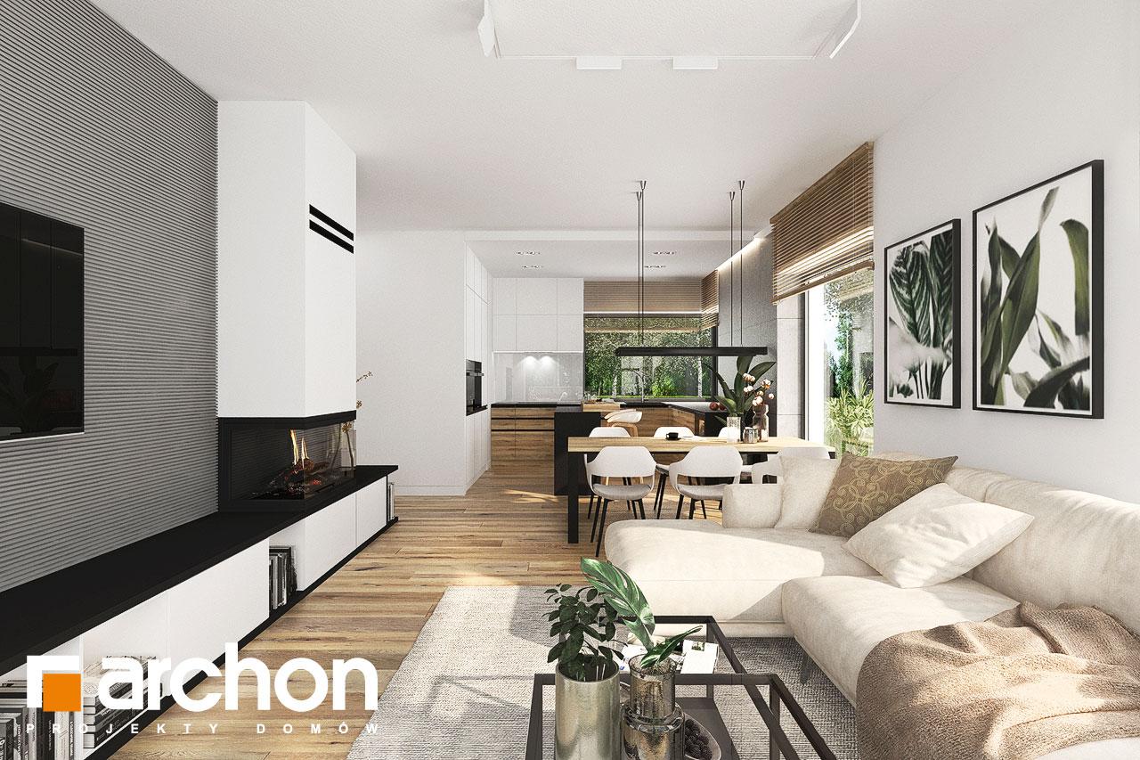 Проект будинку ARCHON+ Будинок в хакетіях 10 денна зона (візуалізація 1 від 3)