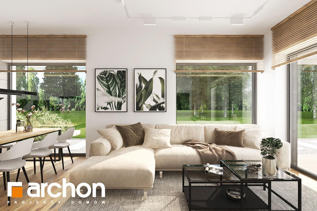 Проект будинку ARCHON+ Будинок в хакетіях 10 денна зона (візуалізація 1 від 4)