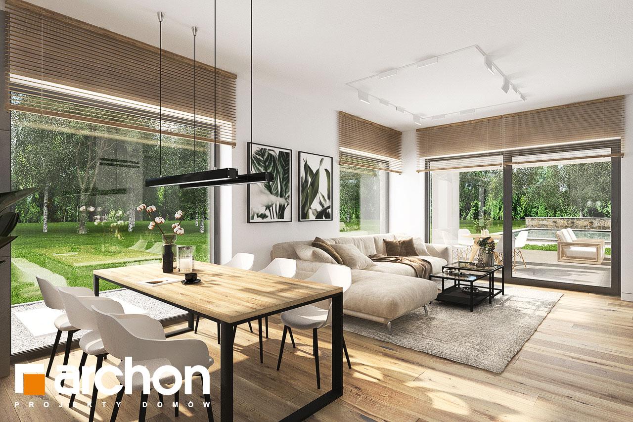 Проект будинку ARCHON+ Будинок в хакетіях 10 денна зона (візуалізація 1 від 5)