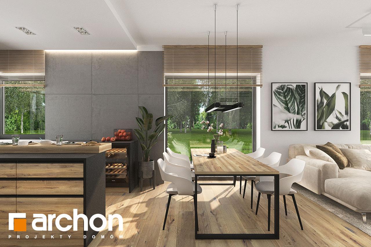 Проект будинку ARCHON+ Будинок в хакетіях 10 денна зона (візуалізація 1 від 6)