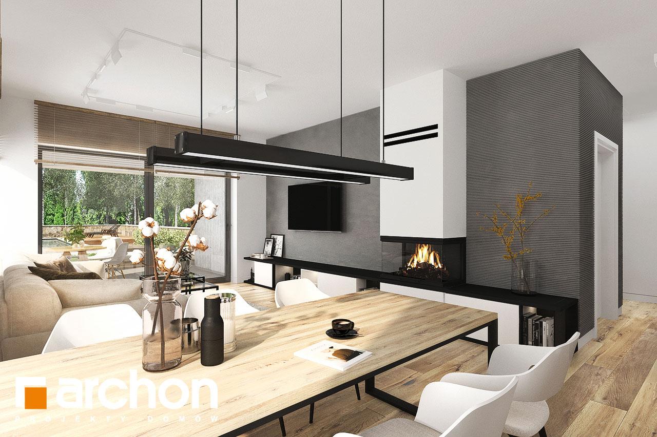 Проект будинку ARCHON+ Будинок в хакетіях 10 денна зона (візуалізація 1 від 7)