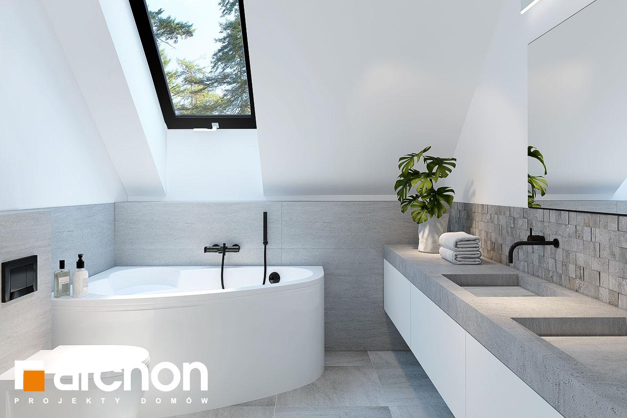 Проект будинку ARCHON+ Будинок у гвоздиках візуалізація ванни (візуалізація 3 від 1)