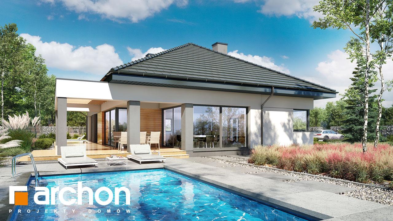 Проект будинку ARCHON+ Будинок в підсніжниках 3 додаткова візуалізація