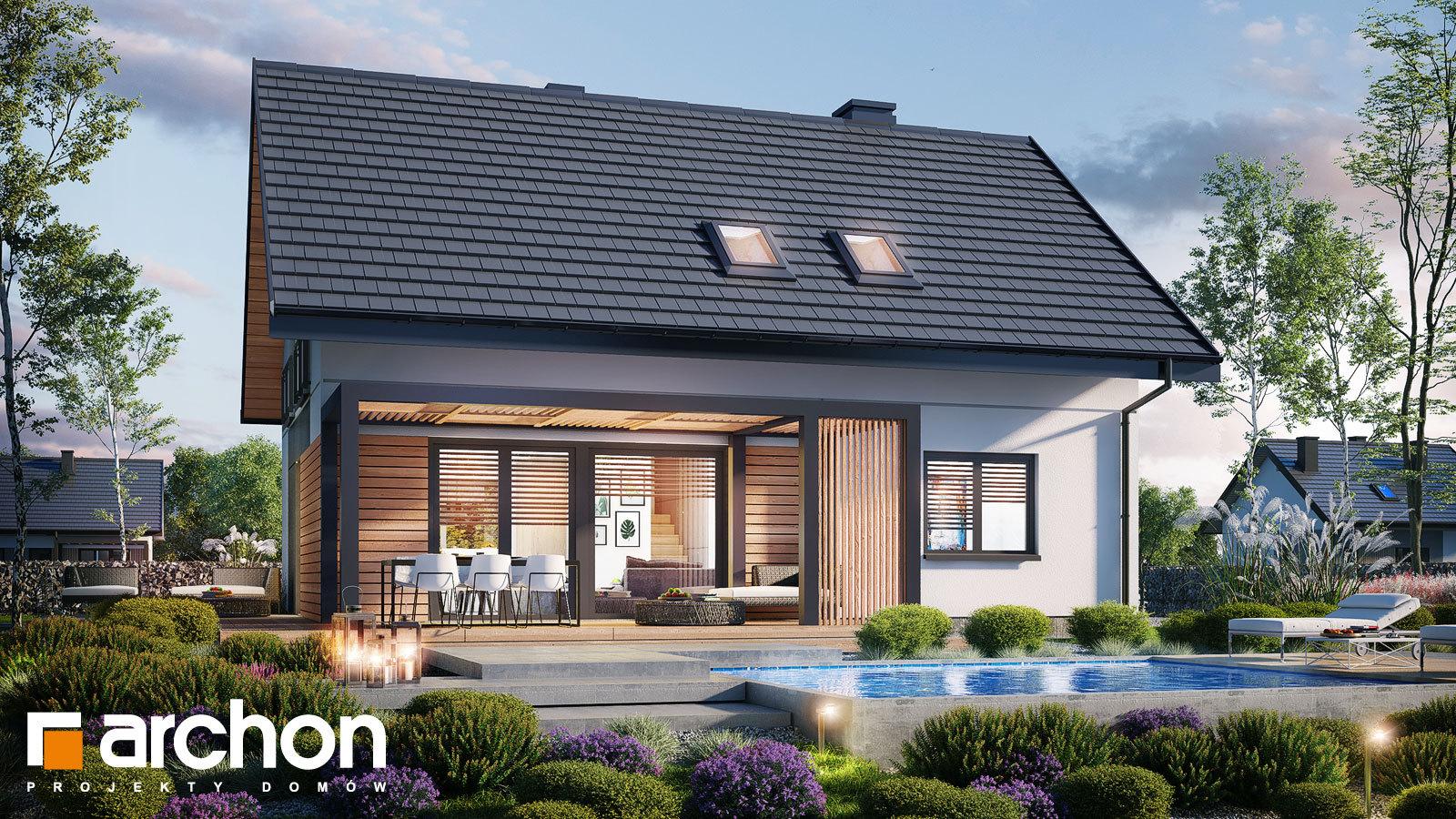 Проект будинку ARCHON+ Будинок в малинівці 14