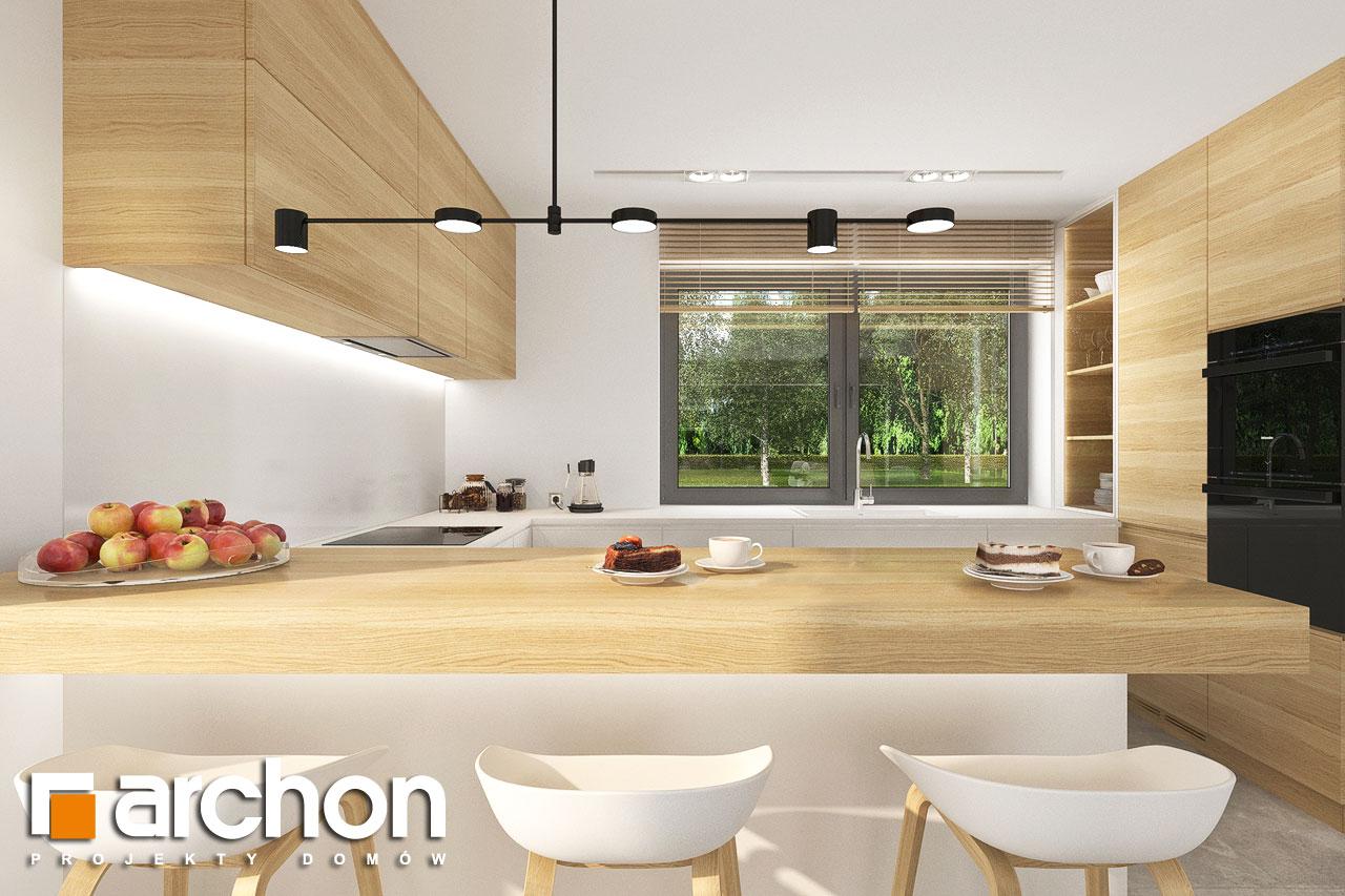 Проект будинку ARCHON+ Будинок в малинівці 14 візуалізація кухні 1 від 1