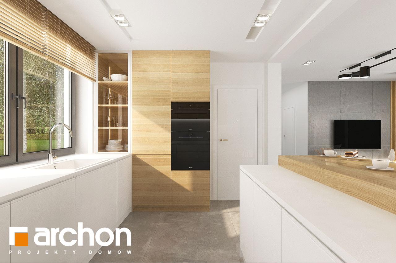 Проект будинку ARCHON+ Будинок в малинівці 14 візуалізація кухні 1 від 2