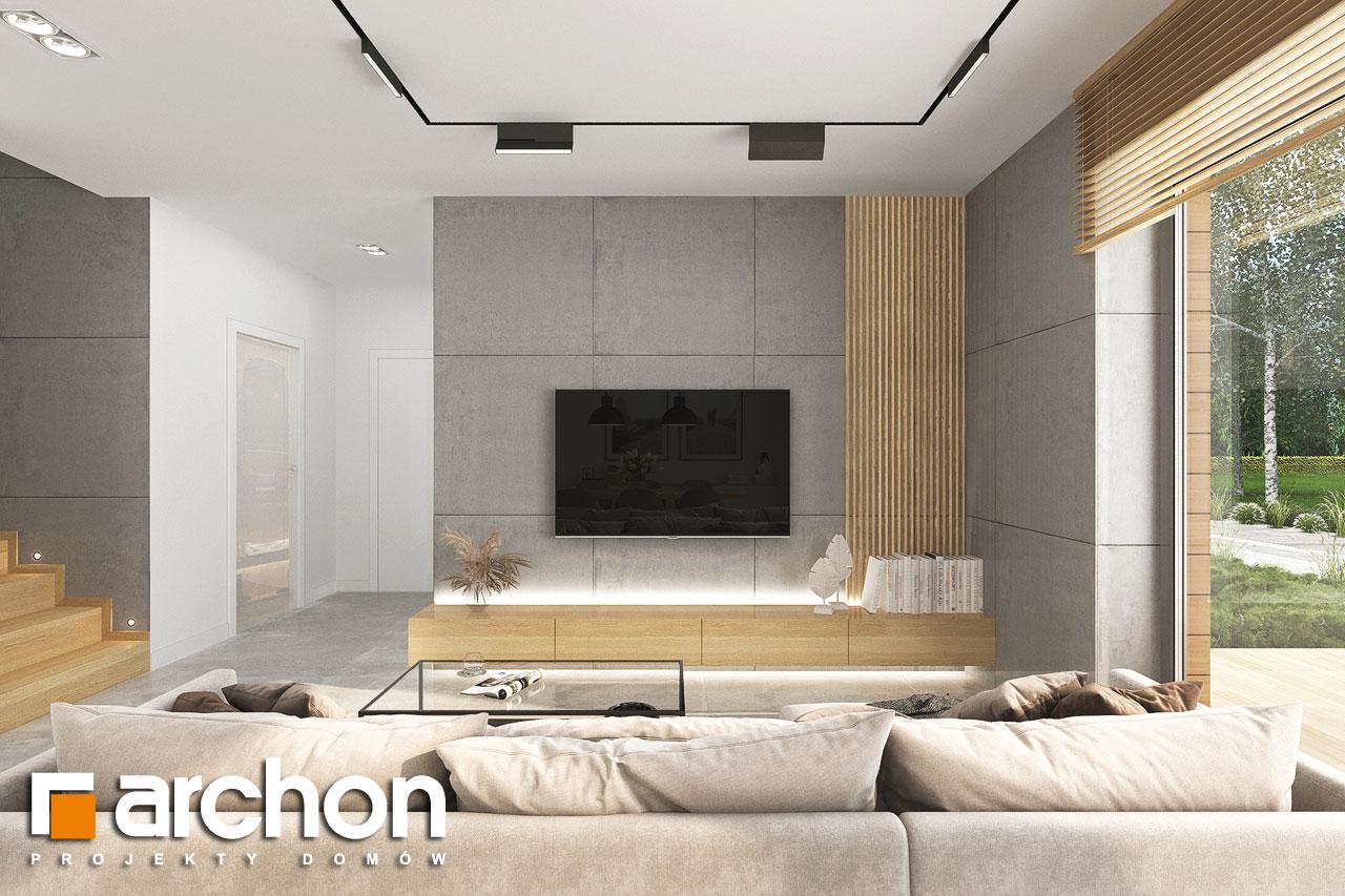 Проект будинку ARCHON+ Будинок в малинівці 14 денна зона (візуалізація 1 від 1)
