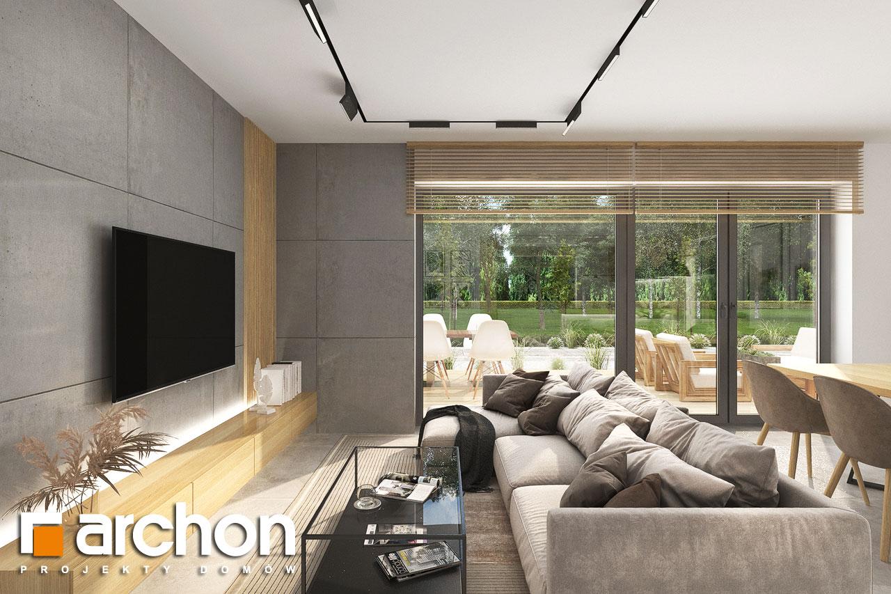 Проект будинку ARCHON+ Будинок в малинівці 14 денна зона (візуалізація 1 від 6)