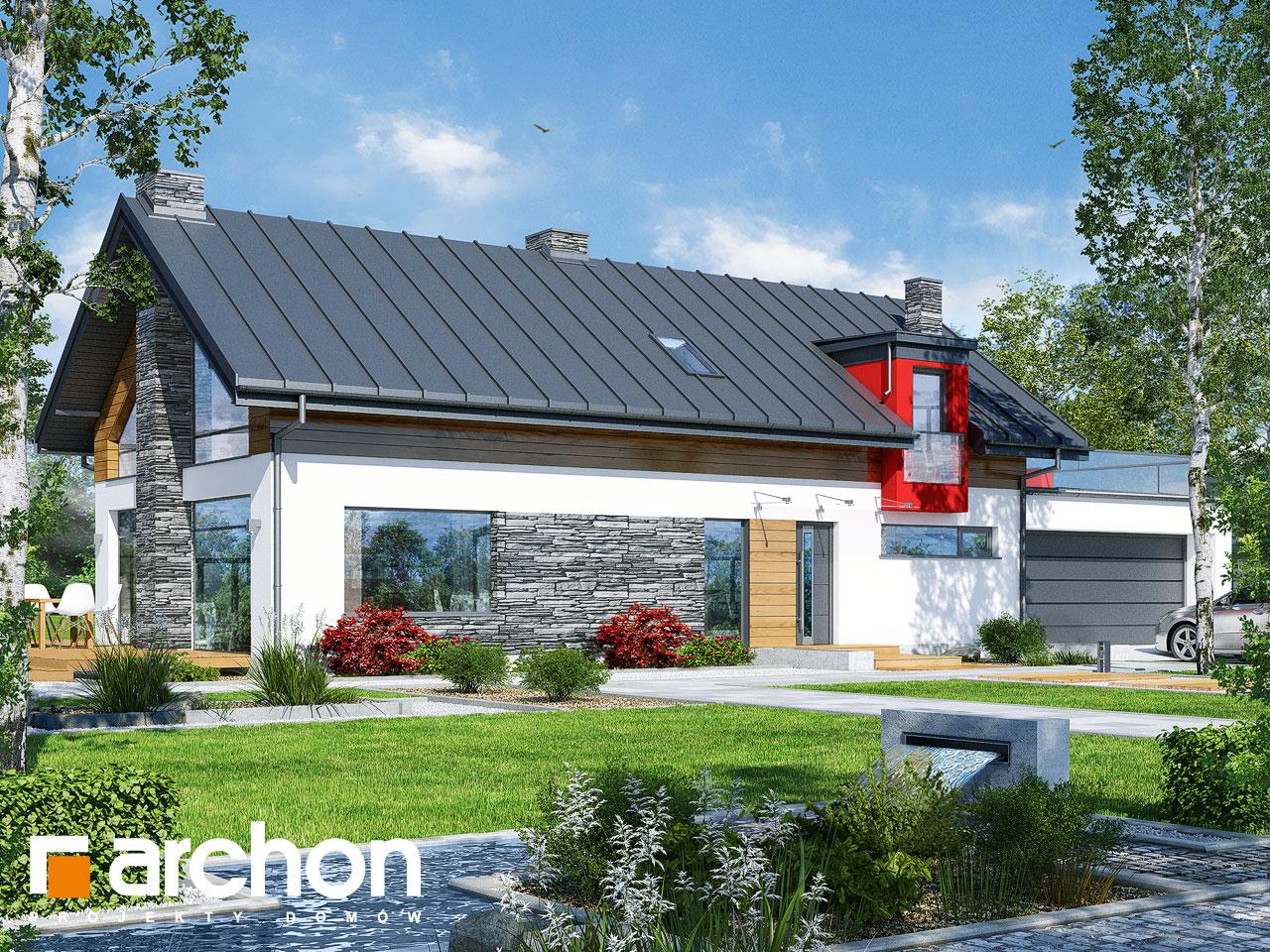 Проект будинку ARCHON+ Будинок у лаврах (Г2П) Вид 2