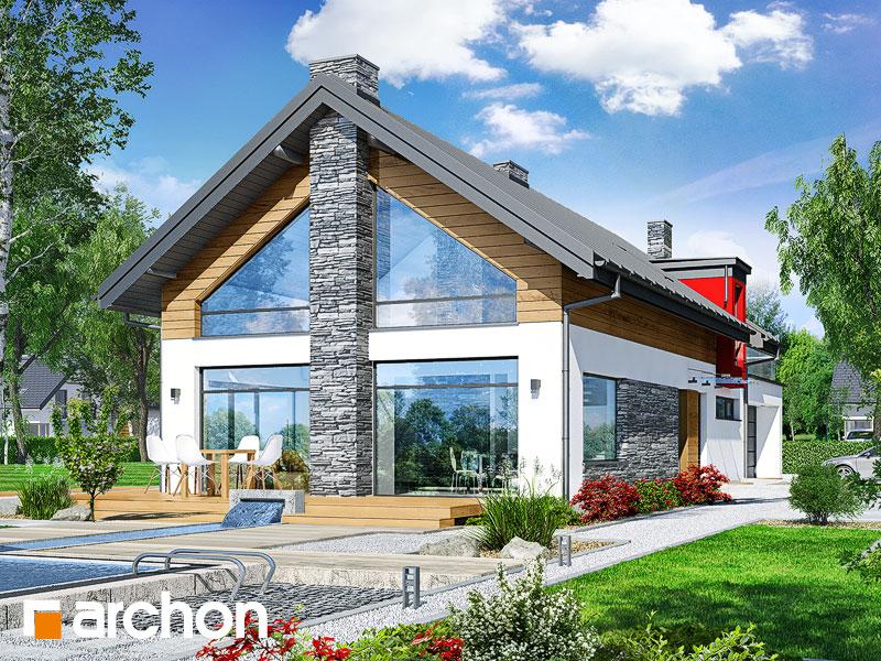 Проект будинку ARCHON+ Будинок у лаврах (Г2П) Вид 1