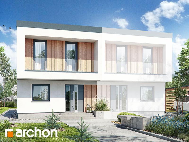 Проект будинку ARCHON+ Будинок в тунбергіях 4 (Б) Вид 1