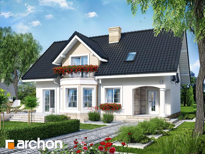 Проект будинку ARCHON+ Будинок в авокадо 2 Вид 1