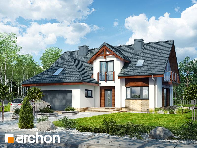Проект будинку ARCHON+ Будинок в каллатеях 7 (Г2) Вид 1