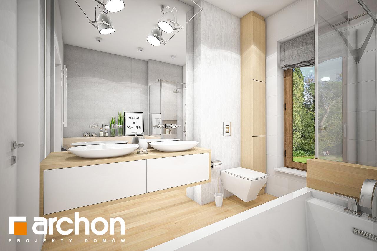 Проект будинку ARCHON+ Будинок під червоною горобиною 7 візуалізація ванни (візуалізація 3 від 1)