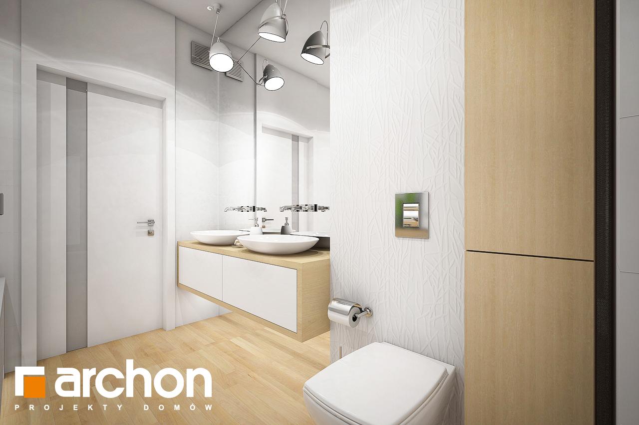 Проект будинку ARCHON+ Будинок під червоною горобиною 7 візуалізація ванни (візуалізація 3 від 3)