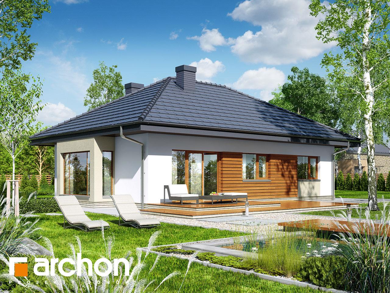 Проект будинку ARCHON+ Будинок під червоною горобиною 7 вер.2 Вид 2