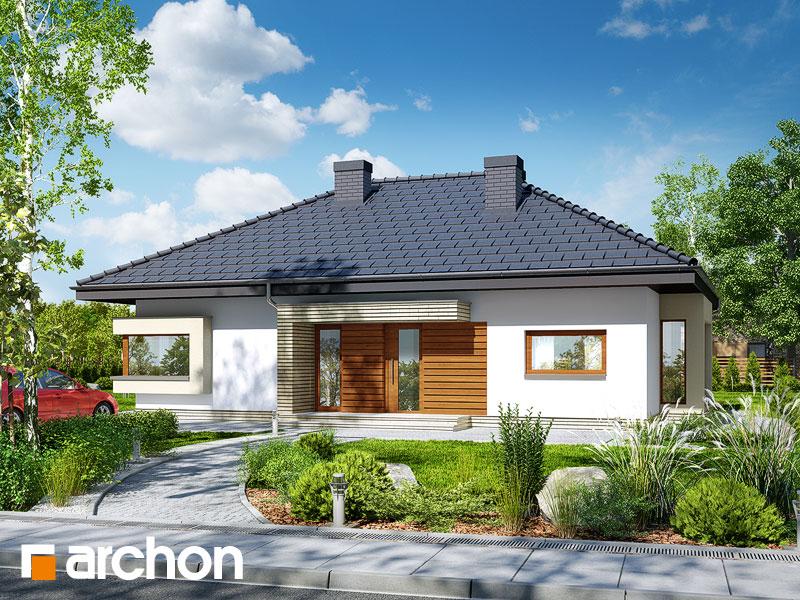Проект будинку ARCHON+ Будинок під червоною горобиною 7 вер.2 Вид 1