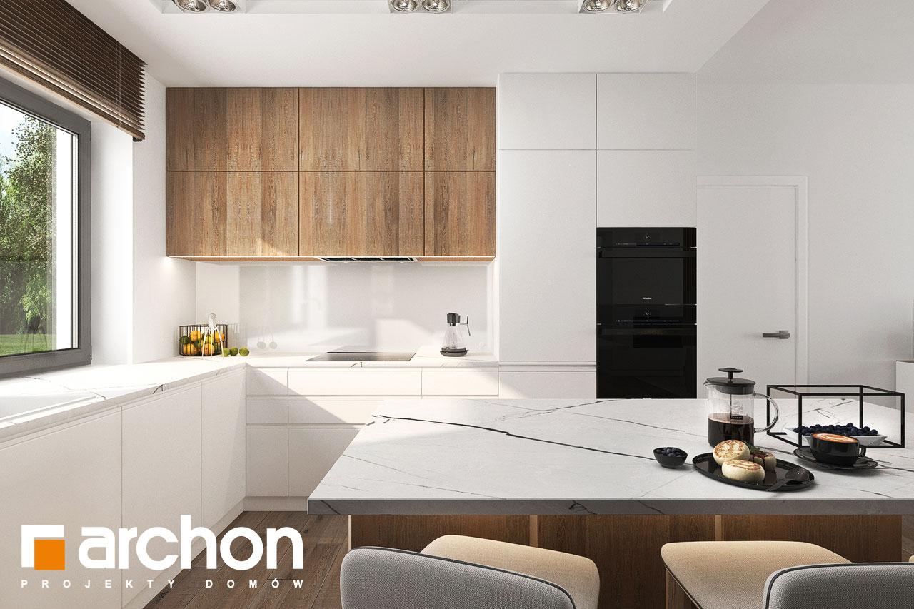 Проект будинку ARCHON+ Будинок в навлоціях 6 (Г2) візуалізація кухні 1 від 2