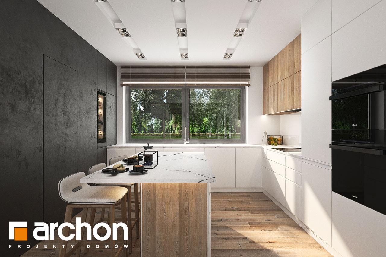 Проект будинку ARCHON+ Будинок в навлоціях 6 (Г2) візуалізація кухні 1 від 3