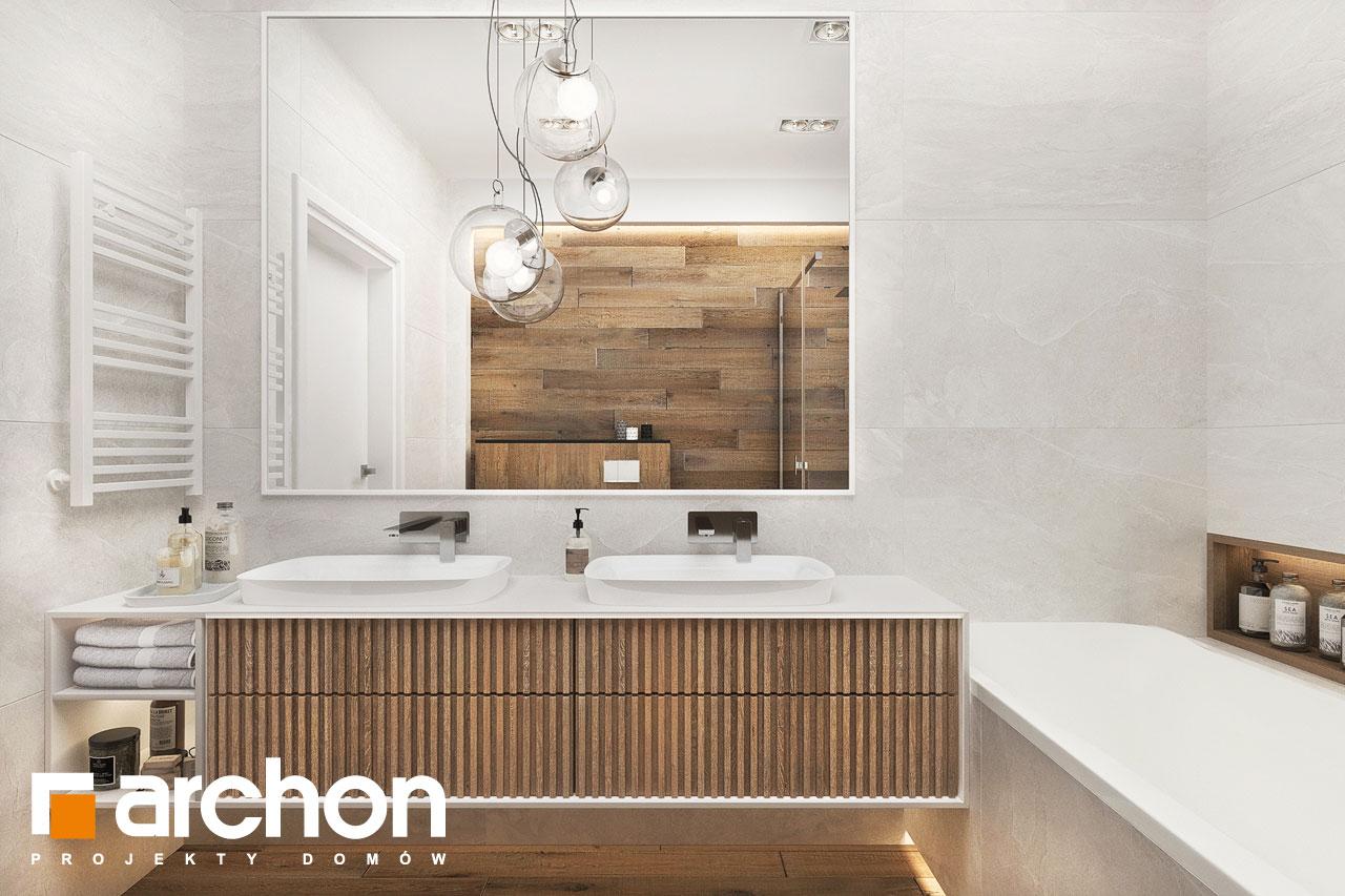 Проект будинку ARCHON+ Будинок в навлоціях 6 (Г2) візуалізація ванни (візуалізація 3 від 1)