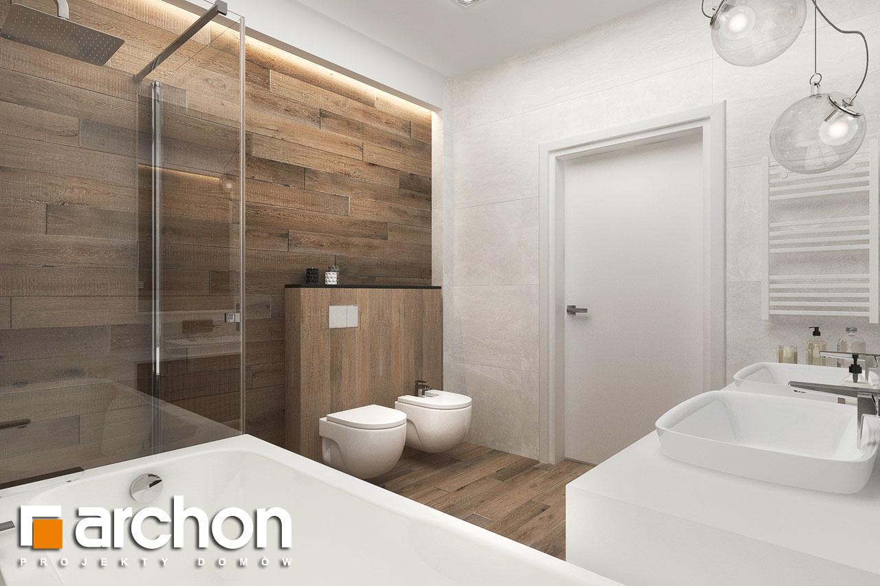 Проект будинку ARCHON+ Будинок в навлоціях 6 (Г2) візуалізація ванни (візуалізація 3 від 3)