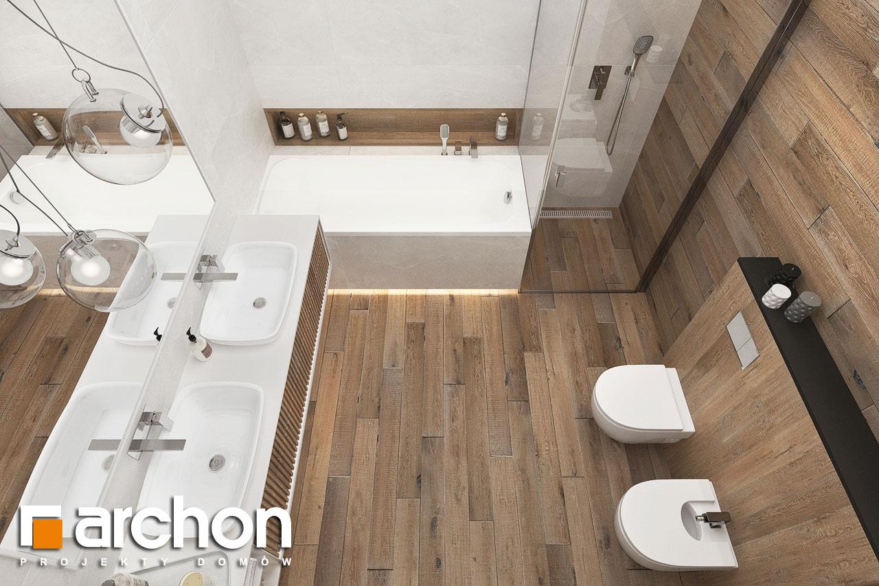 Проект будинку ARCHON+ Будинок в навлоціях 6 (Г2) візуалізація ванни (візуалізація 3 від 4)