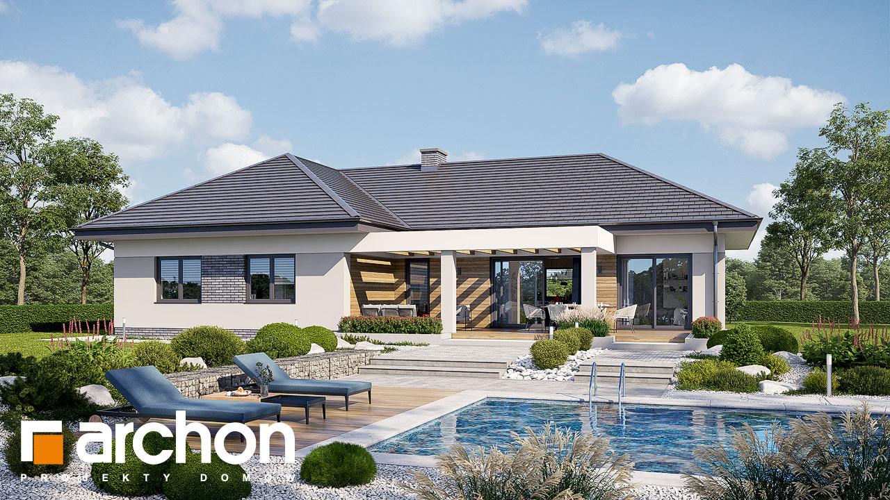 Проект будинку ARCHON+ Будинок в навлоціях 6 (Г2) Вид 2