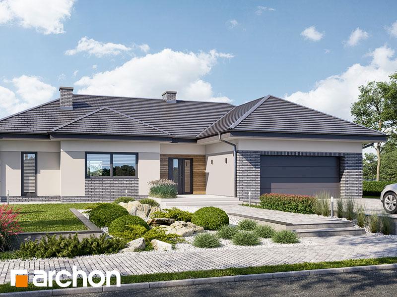 Проект будинку ARCHON+ Будинок в навлоціях 6 (Г2) Вид 1
