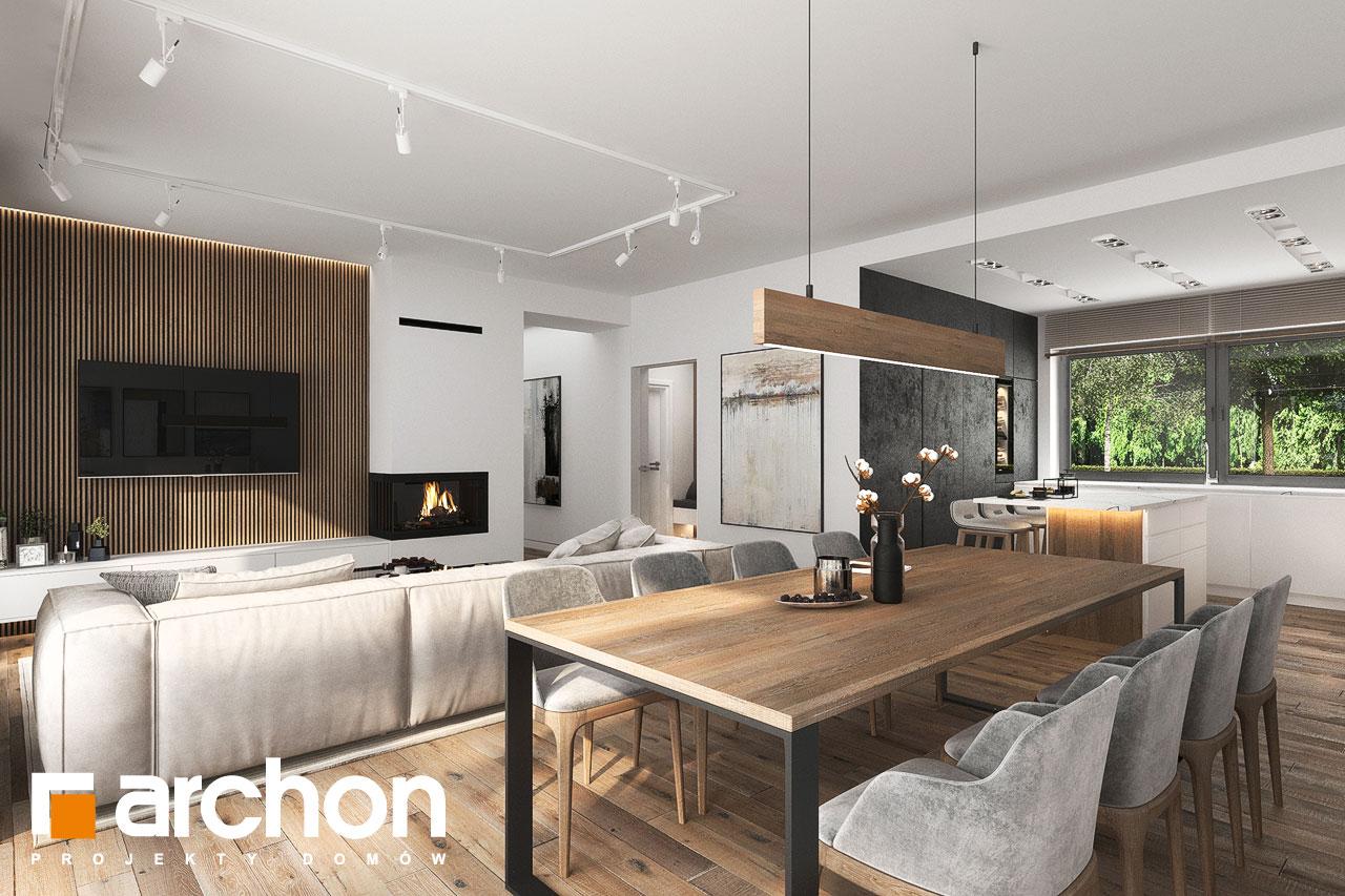 Проект будинку ARCHON+ Будинок в навлоціях 6 (Г2) денна зона (візуалізація 1 від 1)