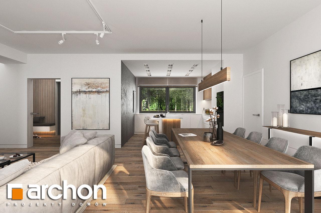 Проект будинку ARCHON+ Будинок в навлоціях 6 (Г2) денна зона (візуалізація 1 від 8)