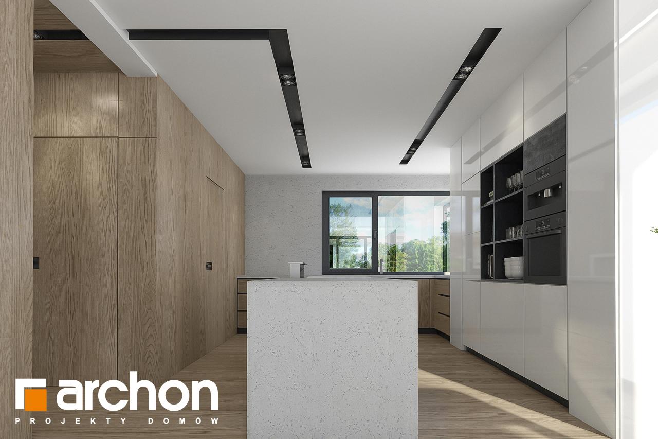 Проект будинку ARCHON+ Будинок в підсніжниках 2 (Г2) візуалізація кухні 1 від 1