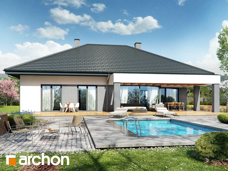 Проект будинку ARCHON+ Будинок в підсніжниках 2 (Г2) Вид 1
