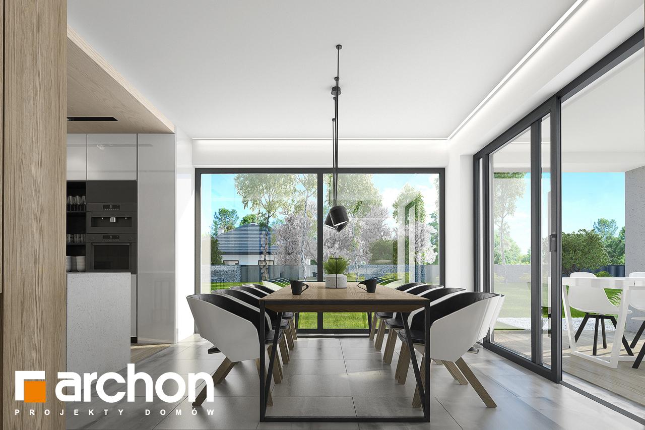 Проект будинку ARCHON+ Будинок в підсніжниках 2 (Г2) денна зона (візуалізація 1 від 4)