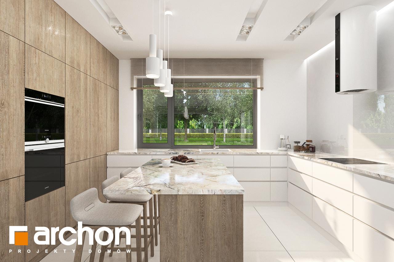 Проект будинку ARCHON+ Будинок в сантанах візуалізація кухні 1 від 1
