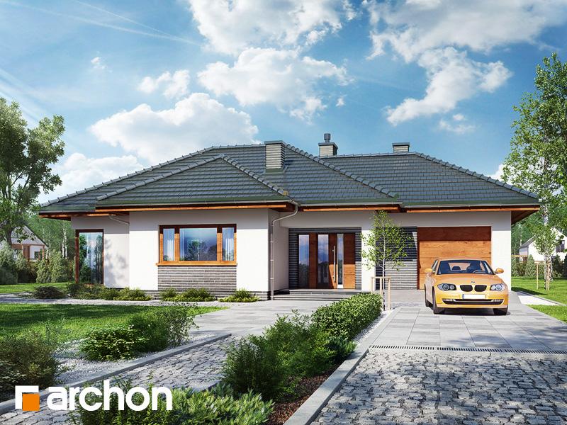Проект будинку ARCHON+ Будинок в раванах Вид 1